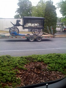 An old hearse I saw today