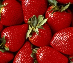 Strawberries are high in vitamin C